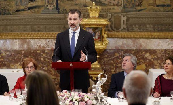 """El Rey: """"El español nos permite disfrutar de sus valores -que son nuestros- y comprender mejor lo que somos"""""""