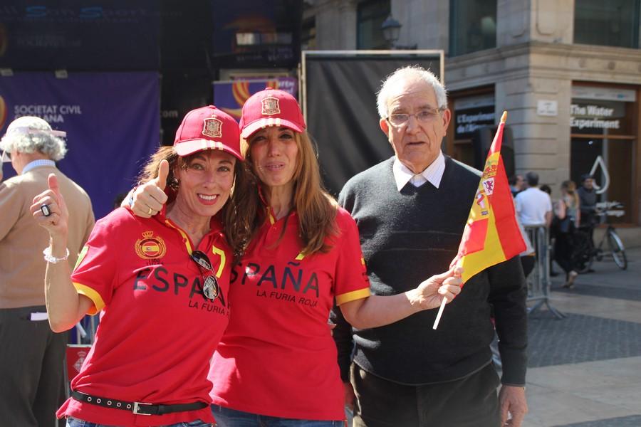 Barcelona (España), 19.03.2017. Marcha contra el 'golpe separatista' en el centro de Barcelona. Lasvocesdelpueblo (876)
