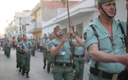 Tres legionarios heridos en un accidente con un vehículo militar en Almería