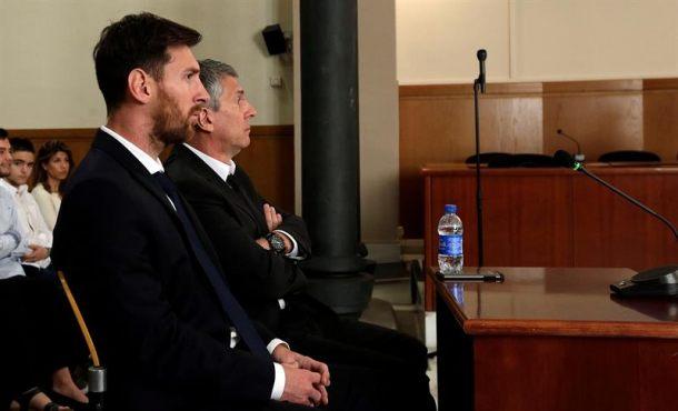 La Justicia española revisa hoy el recurso de Leo Messi, castigado por 3 delitos de robo organizado