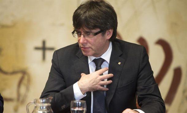 Puigdemont y concejeros reciben el aviso de la Justicia de la querella por malversación en el 1-O