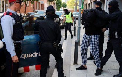 4 de los 8 yihadistas detenidos en Cataluña, relacionados con los atentados de Bruselas