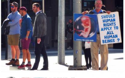 Australia condena a Michelle Fraser, una cristiana activista provida, por denunciar el aborto