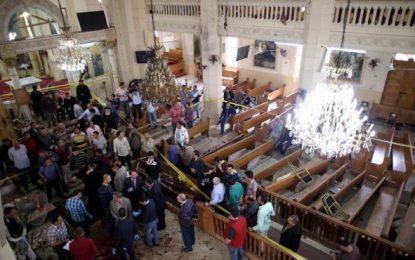 Al menos 33 cristianos muertos en dos atentados contra dos iglesias en Egipto