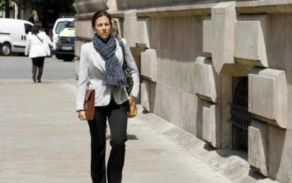 La mujer de Oriol Pujol, Anna Vidal, al banquillo el miércoles por cotitular de cuentas de su marido