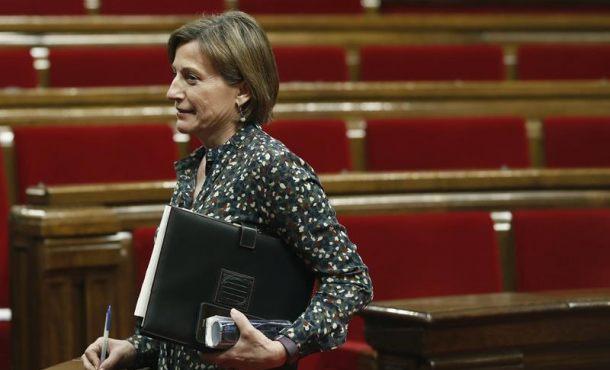Forcadell tira por los suelos al separatismo, rechaza la oferta de ERC y no repetir como candidata al 21-D