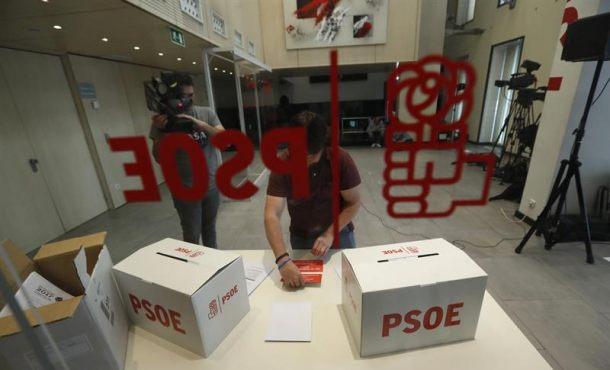 El PSOE fue el primer en instaurar las primarias, domingo 21M primarias PSOE