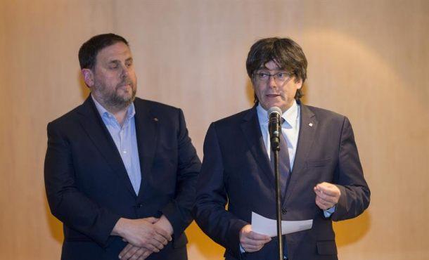 """El separatismo rechaza otra oferta de Soraya (PP) porque su referéndum es """"irrenunciable"""""""