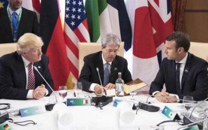 """Trump bloquea la locura feminista de """"Cambio Climático"""" en Taormina (Italia)"""