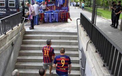 Al menos 5 ultras de FC Barsa detenidos por asaltar comercio en Madrid, final Copa del Rey
