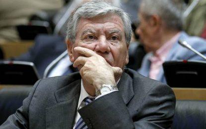 José Luis Corcuera, 'susanista' muy crítico a Sánchez, se da de baja en el PSOE tras la derrota
