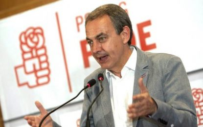 """Zapatero sufriendo por la derrota de Susana Díaz, """"tengo una simpatía muy alta de Susana"""""""