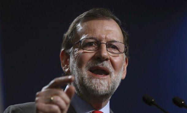 """Rajoy grita: """"¡Hala Madrid!"""""""