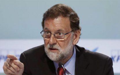 """Rajoy llama a la movilización de """"todos"""" contra el separatismo catalán, yo soy """"español"""""""