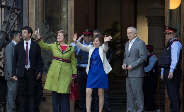 """Forcadell denuncia desde Luxemburgo la """"persecución"""" contra ella y ediles separatistas en Cataluña"""