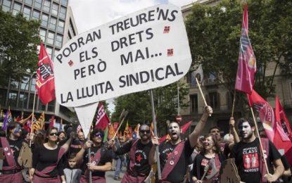 """1 de Mayo y separatismo catalán: """"La crisis ha sido una estafa para romper el Estado de bienestar"""""""