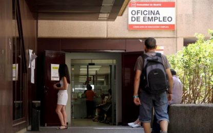 1,4 millón de hogares en España con todos los miembros en paro, la mitad en Cataluña y Andalucía