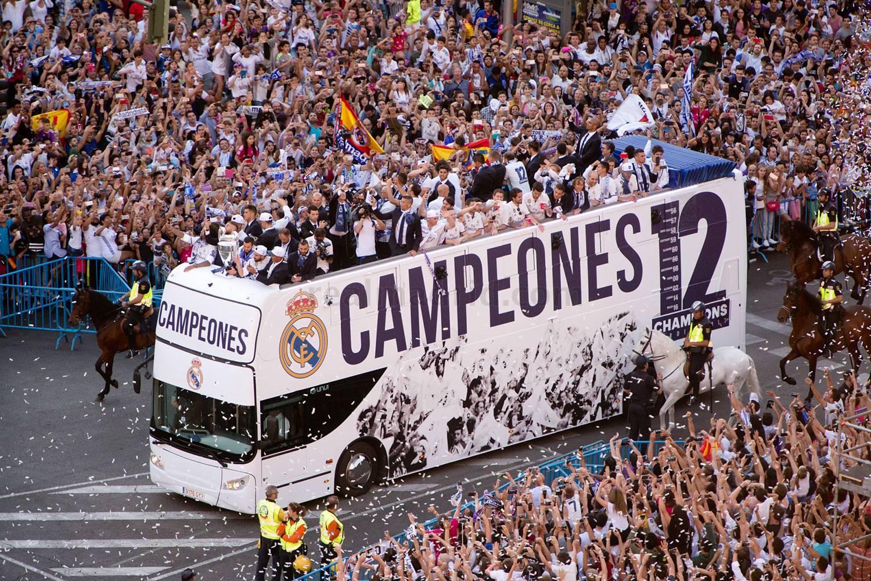 Patrimonio neto del Real Madrid asciende a 463,5 millones €, 21 millones más que en 2015