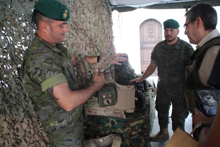 """""""No hay previsión que haga pensar"""" en la intervención del Ejército en Cataluña"""