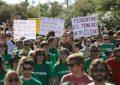 """Más de 250 personas exigen """"responsabilidades"""" en el Juicio Popular del Caso Castor"""