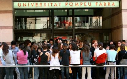 Pompeu Fabra (con 1,8 puntos), mejor universidad española por tercer año consecutivo