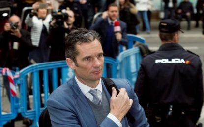 La Fiscalía pide incrementar la condena de Urdangarín a más de 14 años de prisión
