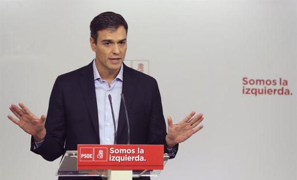 Sánchez apoyará a Rajoy si da pasos hacia una solución política en Cataluña