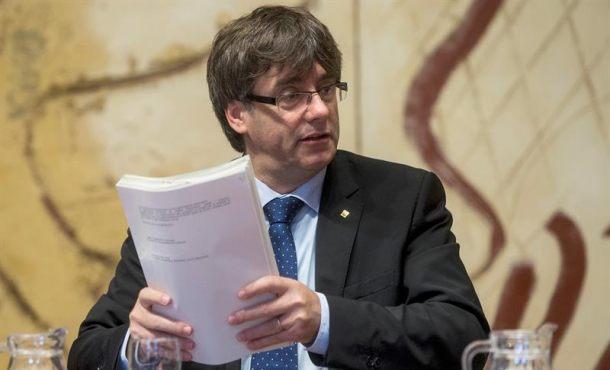 Puigdemont: Ya tenemos aquí las urnas del referéndum de 1-O