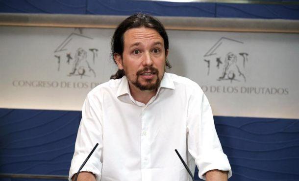 """Iglesias: Rajoy es la """"vergüenza"""" y solo """"vergüenza"""", un """"mentiroso"""" y """"chulo"""" de """"pacto de silencio"""""""