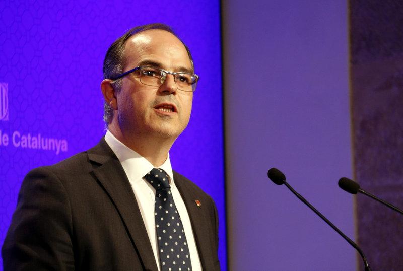 Puigdemont y Junqueras presentan una querella contra la Guardia Civil en Cataluña por el 1-O