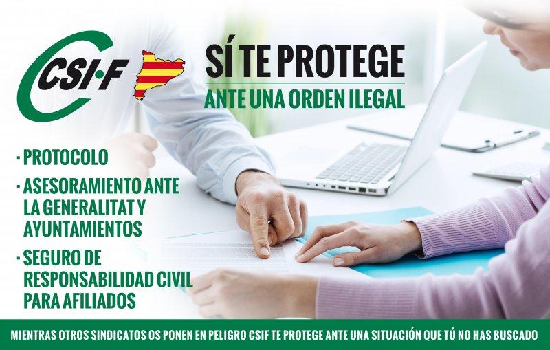 """SCIF da instrucciones a funcionarios en Cataluña ante un referéndum, """"orden ilegal"""""""