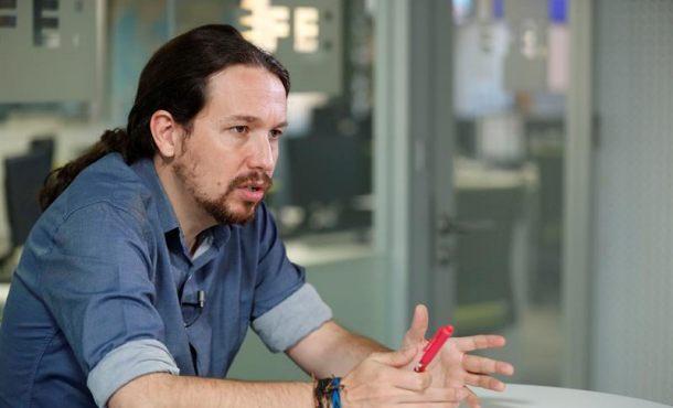 Podemos de Pablo Iglesias recurrirá al TC la aplicación del 155 en Cataluña
