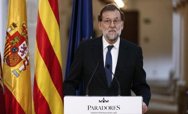 Rajoy asegura estar tranquilo ante la convocatoria de un referéndum separatista en Cataluña