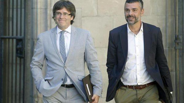"""Gobierno catalán: Hay muchísimos """"Guardias Civiles en Cataluña"""" ahora, por alguna """"razón"""" será"""