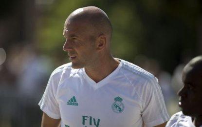 """Zidane: """"Este año va a ser más difícil"""" para el Real madrid, """"pero eso nos gusta"""""""