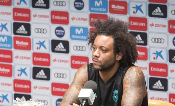"""Marcelo (Real Madrid): """"Conseguimos dos títulos complicados de ganar, pero podemos mejorar"""""""