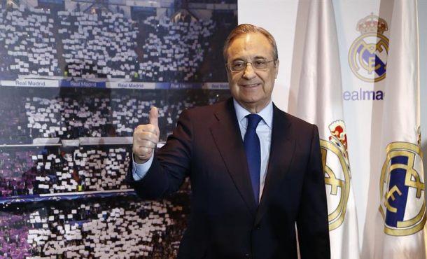 """Florentino: """"El gran motor del mito Real Madrid"""" está """"aquí, nuestra escuela de 49 nacionalidades"""""""