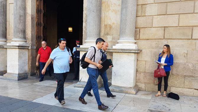 La Guardia Civil se lleva las agendas del ex Consejero y ex cargos del Gobierno catalán tras el registro