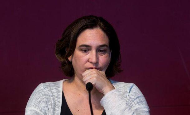 Ada Colau no participa a la manifestación separatista del 11-S por primera vez