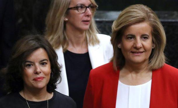 """Soraya: El referéndum se llevará por delante al """"Gobierno de la Generalidad de Cataluña"""""""