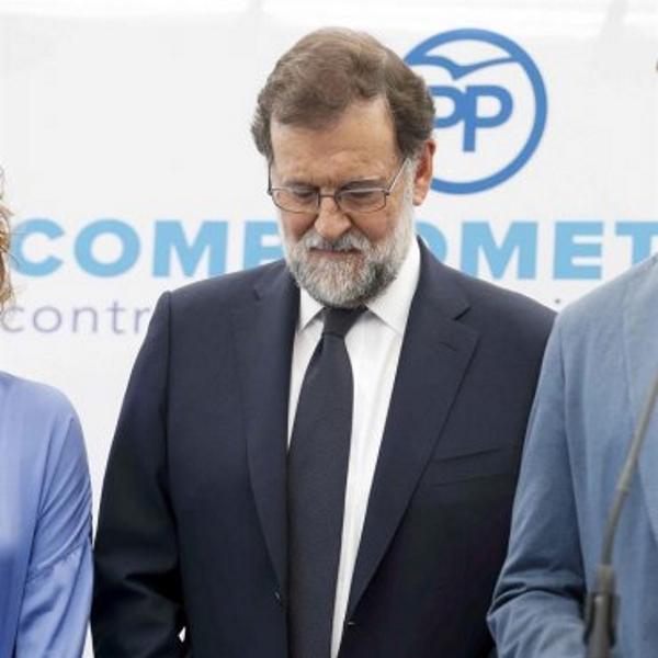 """Rajoy: """"He respondido aquellos temas que he conocido"""" en el Gürtel y """"estoy contento"""""""