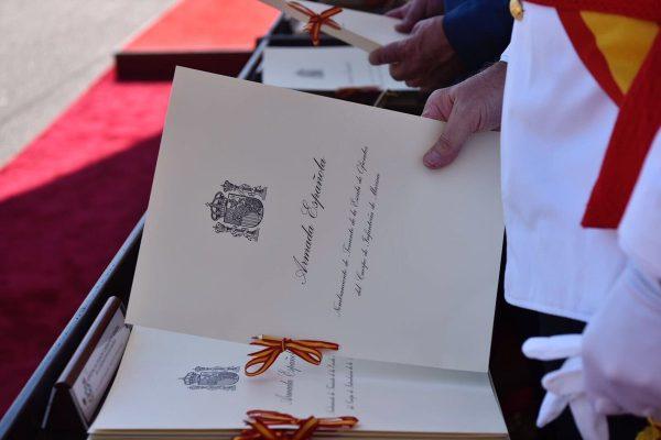 196 alumnos (41 mujeres) reciben Despachos de Oficial de Armada y 67 juran bandera en Pontevedra