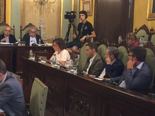 """Lérida dice 'NO' a la celebración del referéndum """"ilegal"""" del 1-O, ni locales ni papeletas ni urnas"""