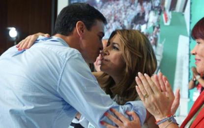 """El PSOE esconde a sus cuchillos y a por el enemigo (PP y Rajoy), """"tú y yo hablamos el mismo"""""""