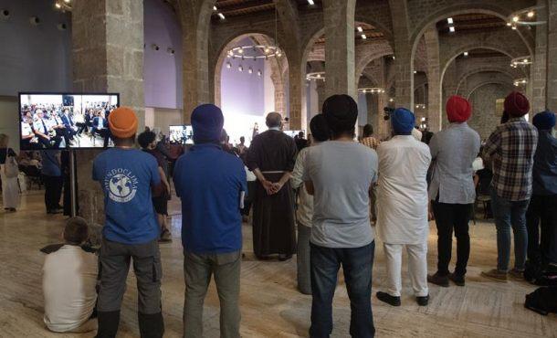 Ateos, laicos, islamistas y cristianos homenajean a víctimas de terrorismo islamista en Cataluña