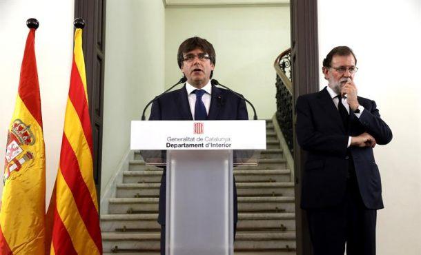Puigdemont llama a la participación masiva en la manifestación contra el terror islamista