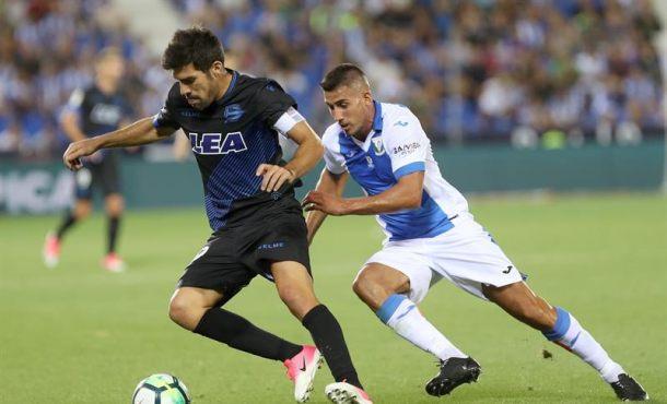 El Leganés estrena su temporada con victoria ante el Alavés (1-0)