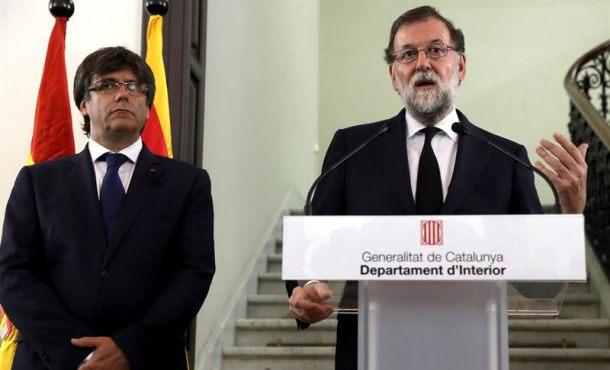 Rajoy se plantea ampliar el Poder de Mozos de Escuadra en Cataluña y Europa