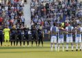 La liga española arranca con un minuto de silencio en el Leganés-Alavés en Madrid