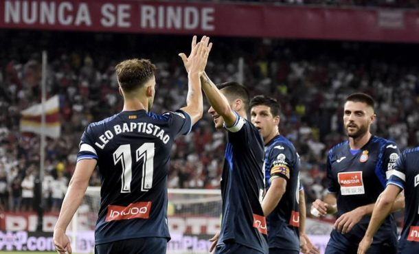 Español suma un punto en su debut  en la liga en Sevilla (1-1)
